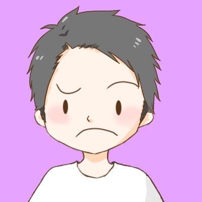 アイコン:短髪男の子思案顔